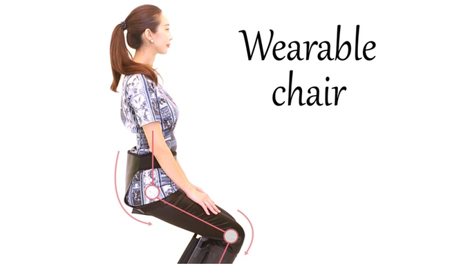 Introducing The Wearable Chair The Chair That Can Be Worn