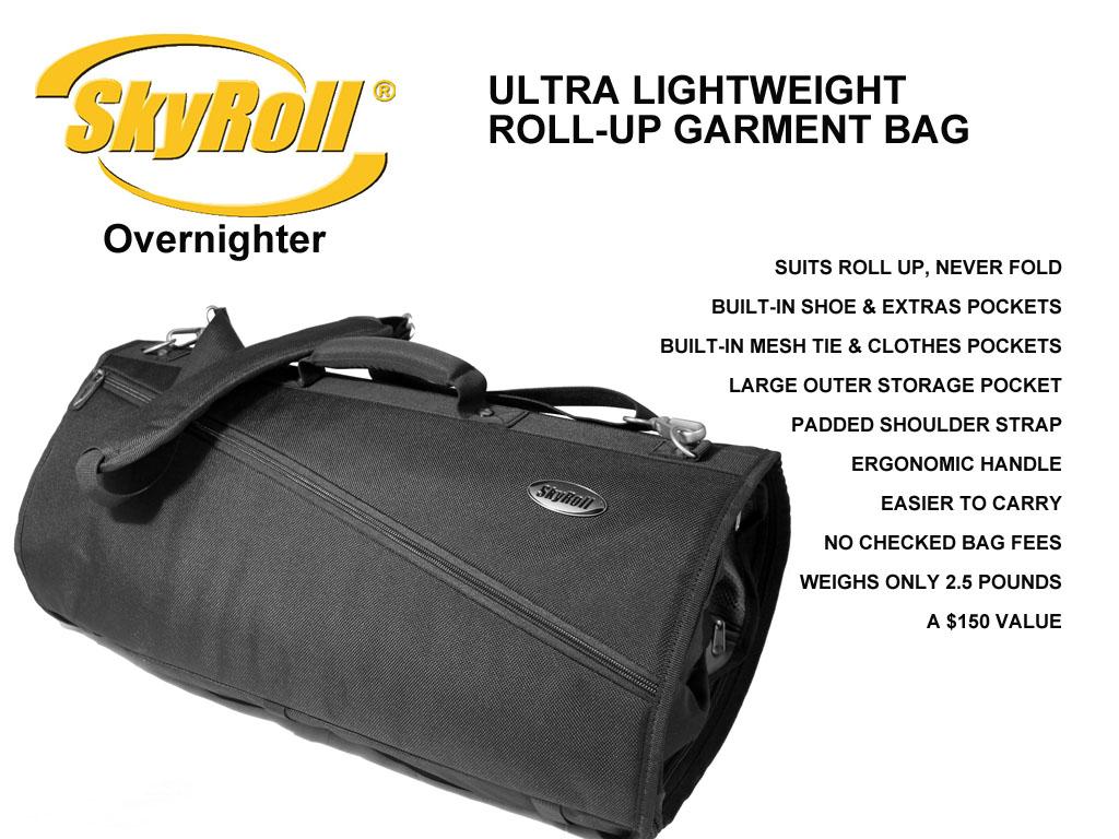 Roll Up Travel Garment Bag