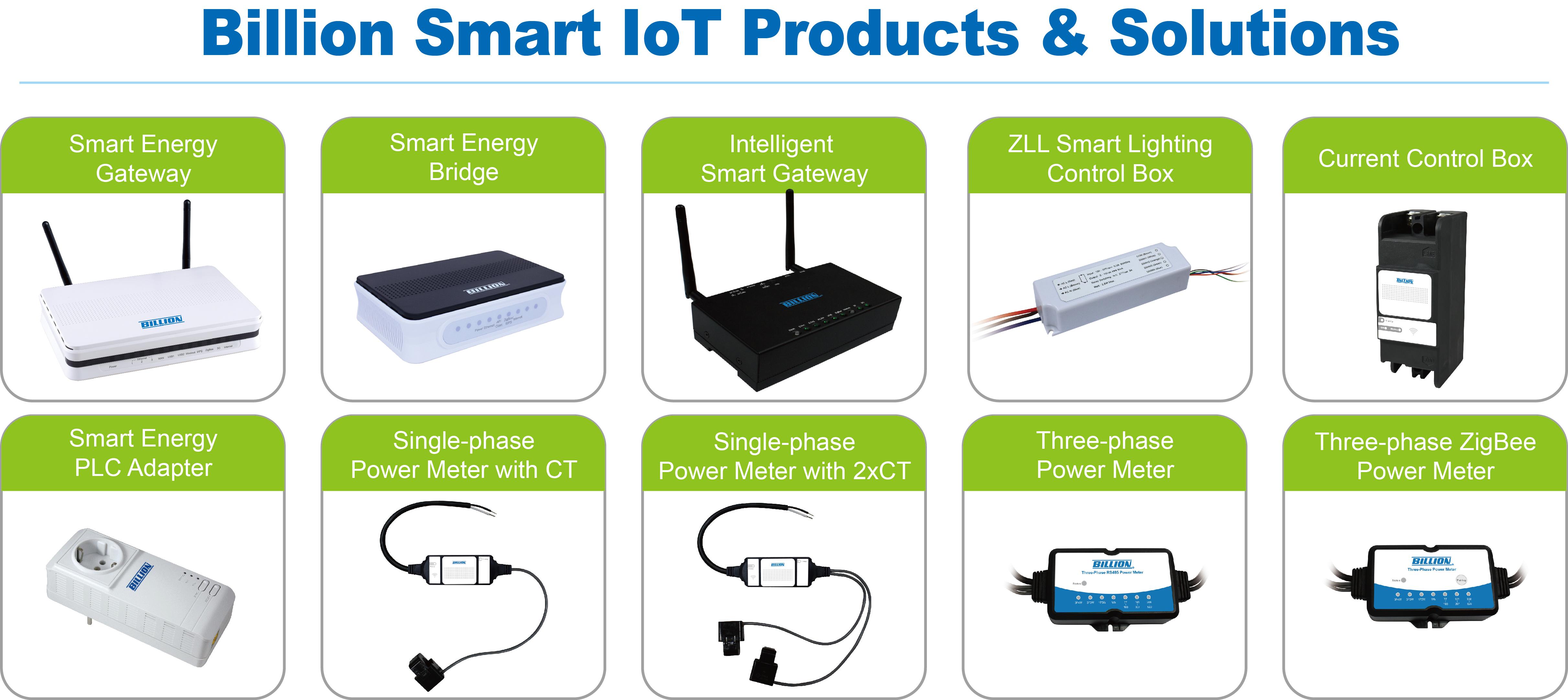 Billion Unveils Smart Energy Iot Platform At 2014 Tigis