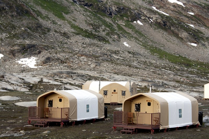 Fabric Shelters For Aquaculture : Alaska structures to showcase tsx series fabric