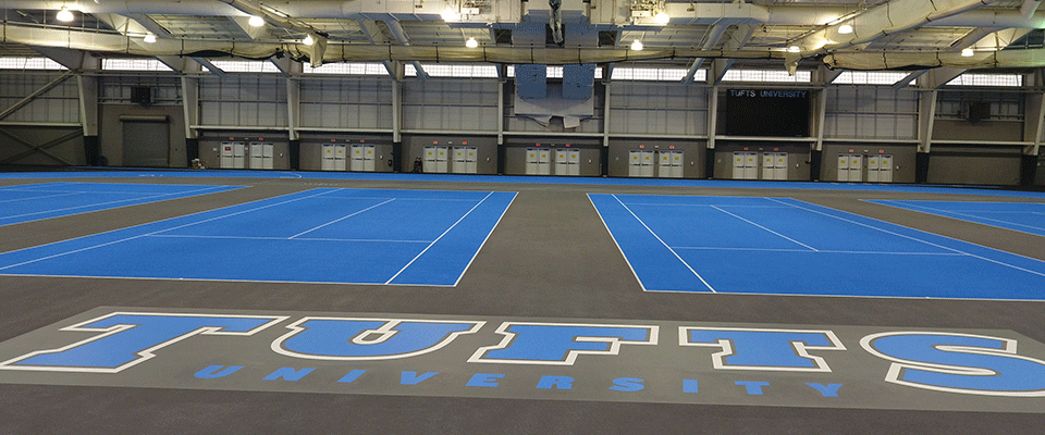 Tufts University Converts Mondo Track Amp Tennis Facility To