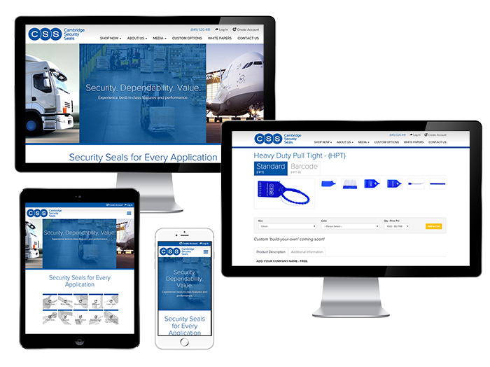 Cambridge Security Seals Launches Brand New Website