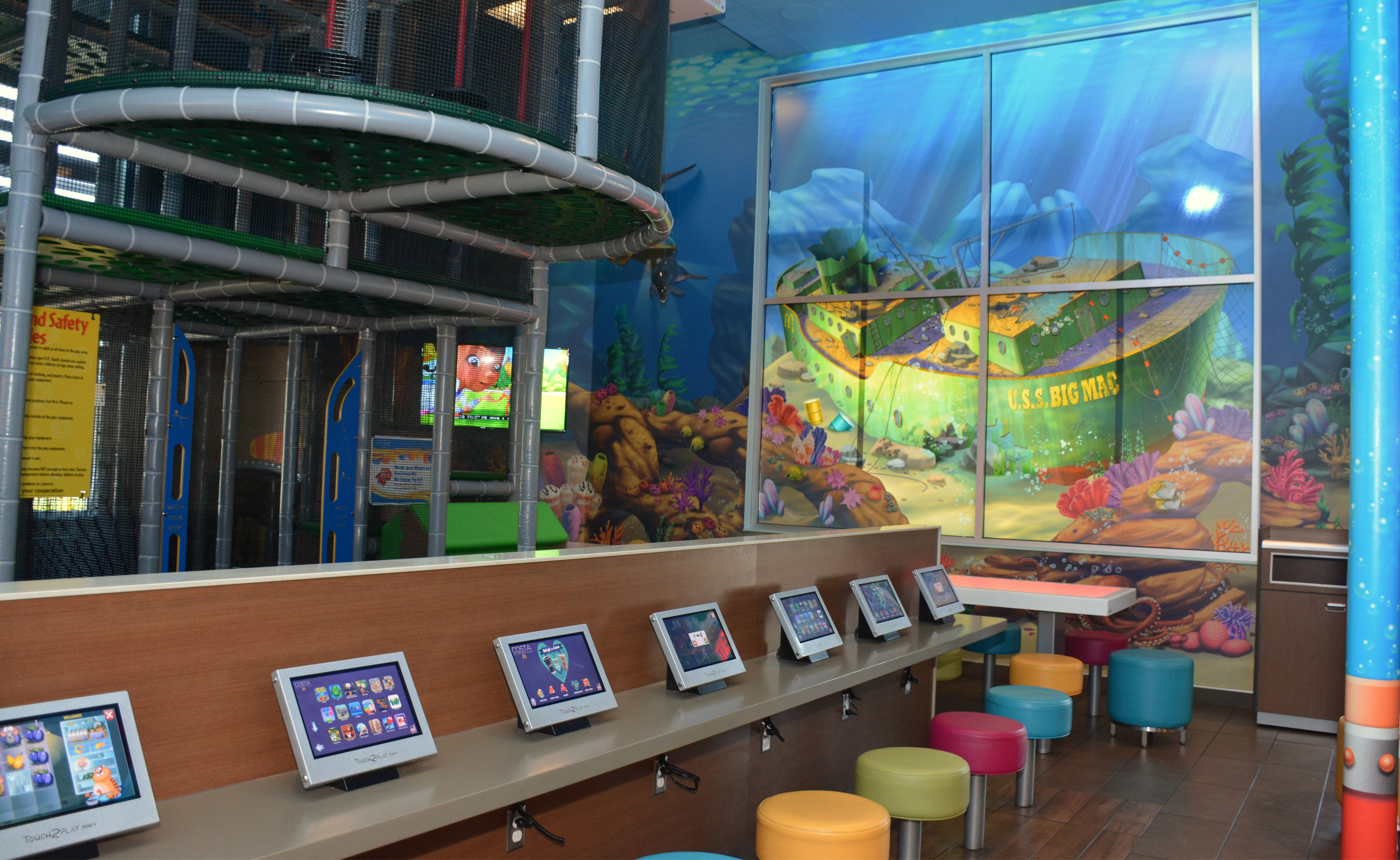 a multi sensory experience at mcdonald 39 s play place under the sea company newsroom of phelan. Black Bedroom Furniture Sets. Home Design Ideas
